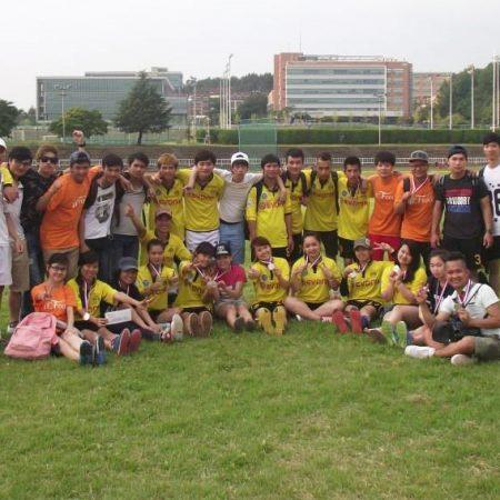 Chương trình giao lưu bóng đá của Du học sinh Việt Tín tại Hàn Quốc
